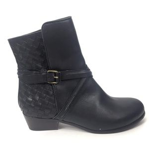 Joie Size 37.5 Jackson Weave Ankle Boots